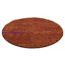 Ay life 1500 terra 200cm egyszínű kör shaggy szőnyeg