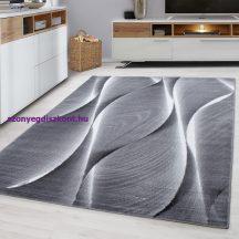 Ay parma 9310 fekete 80x300cm modern szőnyeg akciò