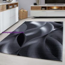 Ay plus 8008 fekete 80x150cm modern szőnyeg akció