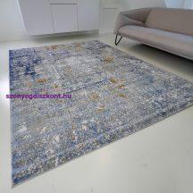Modern szőnyeg akció, ZARIF 005 kék-arany 80x150cm
