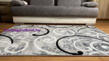 Modern szőnyeg, Platin szürke 1181 60szett=60x220cm+2dbx60x110cm