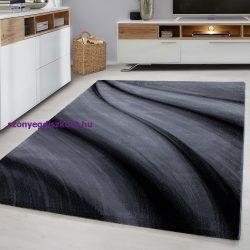 Ay miami 6630 fekete 80x300cm szőnyeg
