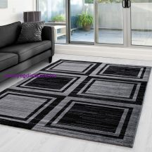 Ay parma 9270 fekete 120x170cm modern szőnyeg akciò