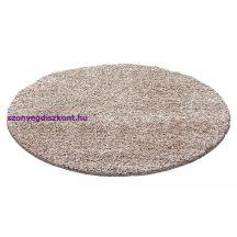 Ay life 1500 bézs 200cm egyszínű kör shaggy szőnyeg