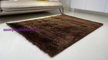 Prémium barna shaggy szőnyeg 120x170cm