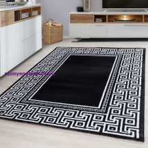 Ay parma 9340 fekete 80x150cm modern szőnyeg akciò