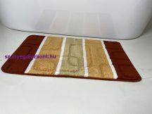 Fürdőszobai szőnyeg 1 részes - terra kockás