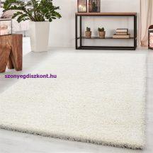 Ay life 1500 krém 100x200cm egyszínű shaggy szőnyeg