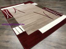 Modern szőnyeg, Platin piros 3660 60szett=60x220cm+2dbx60x110cm szőnyeg