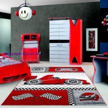 Ay kids 460 piros 80x150cm gyerek szőnyeg