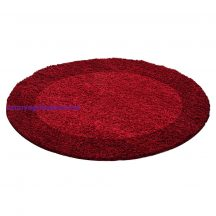 Ay life 1503 piros 120cm - kör shaggy szőnyeg akció