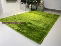 Prémium zöld shaggy szőnyeg 80x150cm