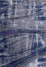Ber Róma 2151 60X100Cm Szürke-Kék Szőnyeg