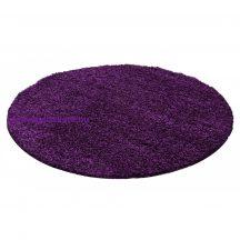 Ay life 1500 lila 120cm egyszínű kör shaggy szőnyeg