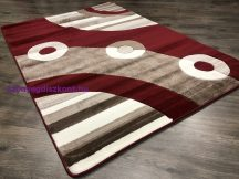 Modern szőnyeg, Platin piros 3775 60szett=60x220cm+2dbx60x110cm szőnyeg