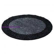 Ay life 1503 antracit 120cm - kör shaggy szőnyeg akció