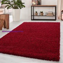 Ay dream 4000 piros 60x110cm egyszínű shaggy szőnyeg