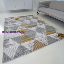 Modern szőnyeg akció, ZARIF 9928 szürke-arany 200x280cm