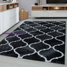 Ay Toscana 3180 fekete 160x230cm modern szőnyeg akciò