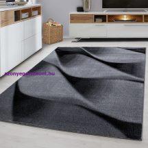 Ay parma 9240 fekete 80x150cm modern szőnyeg akciò