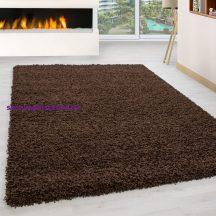 Ay life 1500 barna 100x200cm egyszínű shaggy szőnyeg