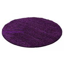 Ay life 1500 lila 160cm egyszínű kör shaggy szőnyeg