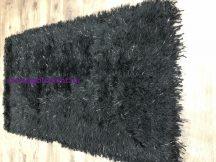Kd Mala Fekete 140X200Cm Luxus Shaggy Szőnyeg