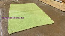 Zsenília  70x140Cm egyszínű zöld Szőnyeg