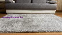Prémium szürke shaggy szőnyeg 120x170cm