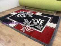 Kyra 734 piros 120x170cm - modern szőnyeg