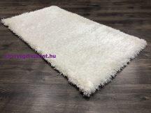 Egyszínű Shaggy Szőnyeg, Lorinda 60X110Cm Fehér Szőnyeg