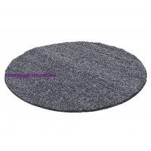 Ay dream 4000 szürke 80cm kör shaggy szőnyeg