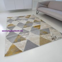 Modern szőnyeg akció, ZARIF 9928 bézs-arany 120x170cm