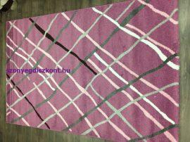 Sima 150x230cm dark rózsaszín rombuszos szőnyeg