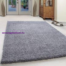Ay ancona világos szürke 200x290cm - shaggy szőnyeg