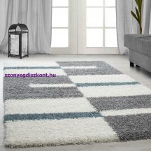 Ay gala 2505 türkiz 140x200cm - shaggy szőnyeg akció