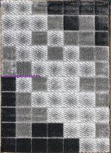 Hosszú Szálú Szőnyeg, Ber Seher 3D 2615 120X180Cm Fekete-Szürke Szőnyeg