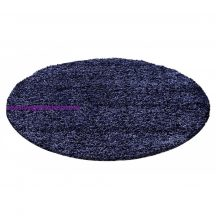 Ay life 1500 kék 160cm egyszínű kör shaggy szőnyeg