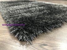 Ber Seven fekete shaggy szőnyeg  133x200cm
