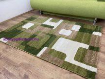 Kyra 929 zöld 200x280cm - modern szőnyeg