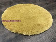 Szuper Puha Kör Szőnyeg 80Cm Mustár