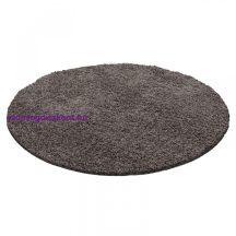 Ay life 1500 taupe 200cm egyszínű kör shaggy szőnyeg