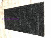 Egyszínű Shaggy Szőnyeg, 133X195Cm Yunus Fekete Szőnyeg