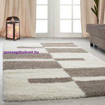 Ay gala 2505 bézs 160x230cm - shaggy szőnyeg akció