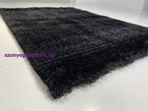 Prémium fekete shaggy szőnyeg 200x280cm