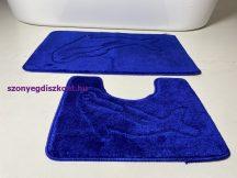 Fürdőszobai szőnyeg 2 részes - kék delfin