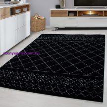 Ay Lucca 1830 fekete 80x150cm szőnyeg