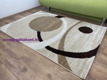 Kyra 932 bézs 80x150cm - modern szőnyeg