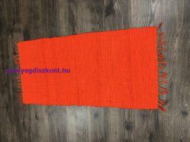 Rongyszőnyeg 60X120Cm F Narancs Szőnyeg