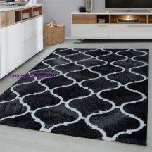 Ay Toscana 3180 fekete 80x300cm modern szőnyeg akciò